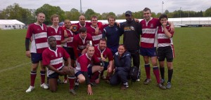 Kingston Rugby Club 7s Champions