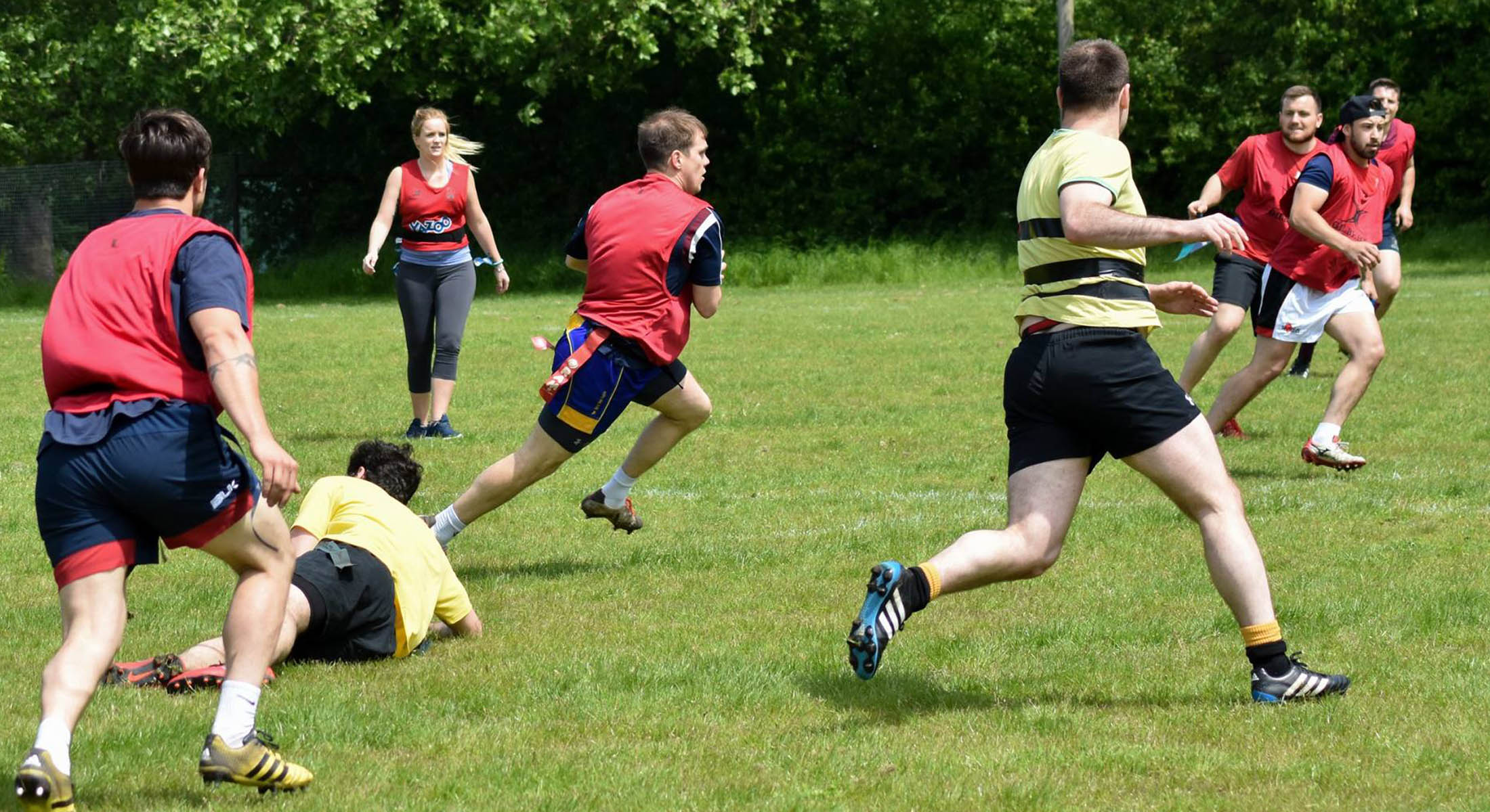 Kingston Rugby Club Tag rugby
